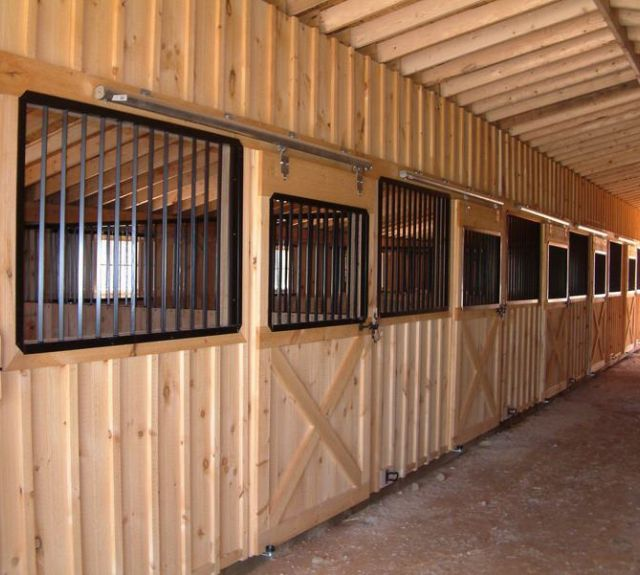 Options for Center Aisle Barns