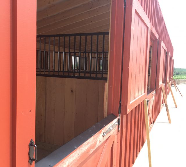 12x50' lean to barn-09