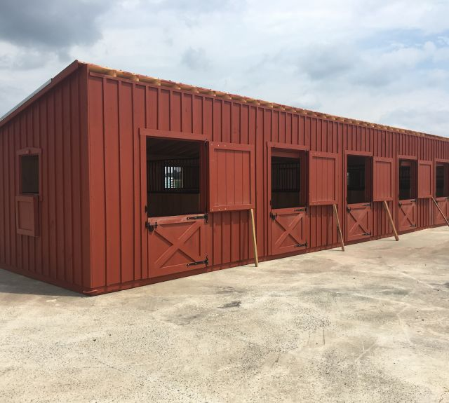 12x50' lean to barn-07