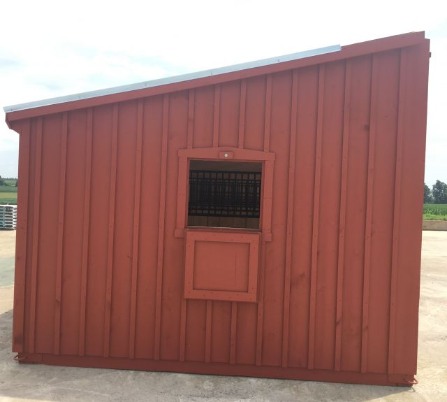 12x50' lean to barn-05