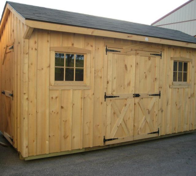 storage shed_extra service door_10x12