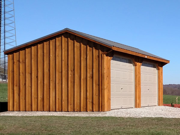 Run In Sheds | Horse Barns | Sunset Barns | Paradise, PA